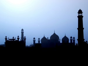mosque shadows
