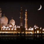 Sheikh Zayed Mosque night view