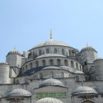 Sultan Ahmed Mosque Istanbul Turkey dooms picture