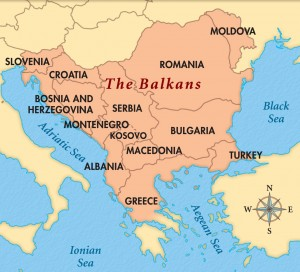 islam in balkans map